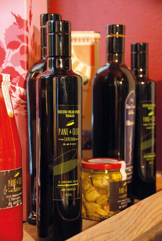 Huiles d'olive Pane e Olio