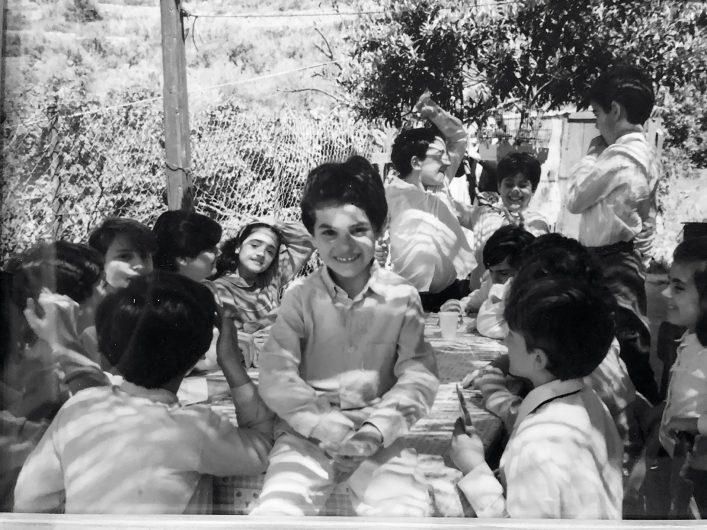 Giuseppe Messina enfant en Sicile