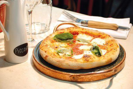 Les pizzette à partager